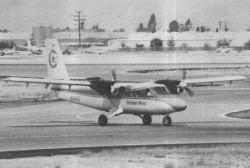D.H DHC-6 model airplane plan