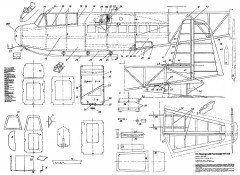 DFS-230 Nietzer model airplane plan