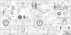 Airco DH 2 model airplane plan