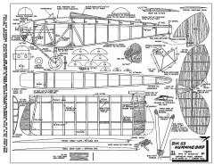 DH53 Humming Bird 45in model airplane plan