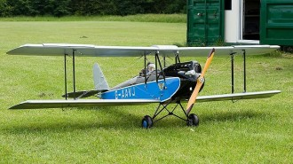 DH-60 Gipsy Moth model airplane plan