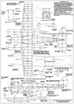 DH87b Hornet Moth model airplane plan