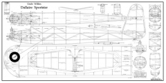 Dallaire Sportster model airplane plan