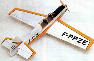 Dalotel DM 165 model airplane plan