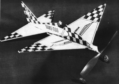 Dart - Too model airplane plan