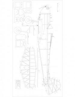 Dart Kitten 60 model airplane plan