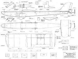 Das Ghosten Flugboot model airplane plan