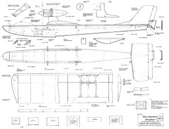 Das Ghosten Flugboot model airplane plan