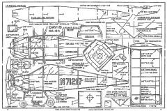Davis DA-2A model airplane plan