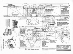 De Havilland DeH-1 model airplane plan