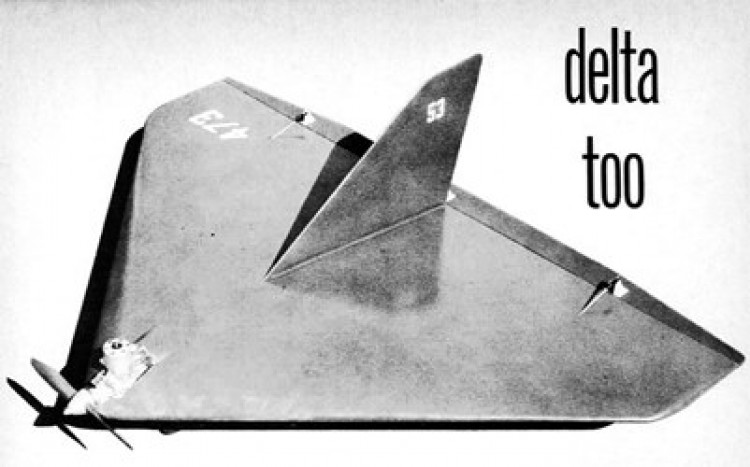 Delta-Too  model airplane plan