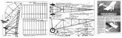 Demoiselle-1 model airplane plan