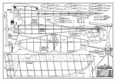 Demon Vandal model airplane plan