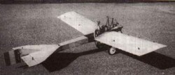 Deperdussin B 1911 model airplane plan