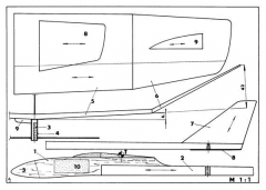 Derby model airplane plan