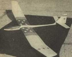 Diamant 2B model airplane plan