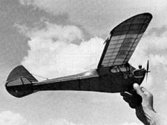 Diamond Demon model airplane plan