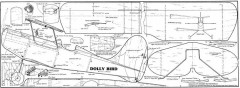 Dolly Bird model airplane plan