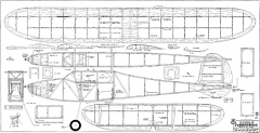 Double Jabberwock RCM-932 model airplane plan
