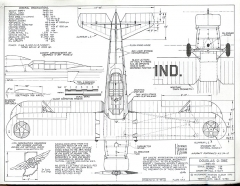 Douglas O-38E model airplane plan