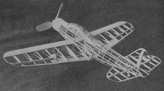 Douglas TBD-1 model airplane plan