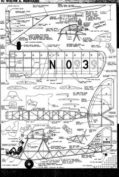 Drafty Junior model airplane plan