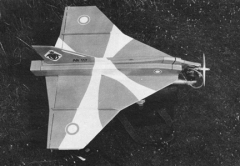 Draken model airplane plan