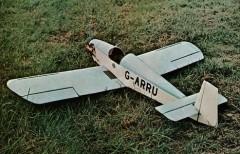 Druine Turbulent model airplane plan