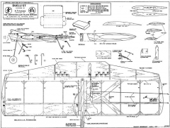 Duellist model airplane plan