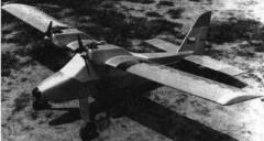 Duo model airplane plan