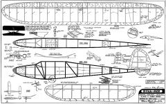 Dyna-Moe model airplane plan