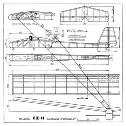 EZ-11 model airplane plan