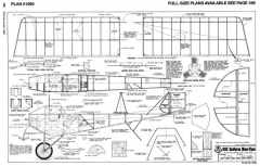 Eastbourne Monoplane-RCM-11-96-1260 model airplane plan