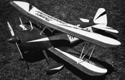 Ed Mahler DJ-295 model airplane plan