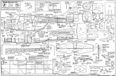 Edgar Percival E.P.9 model airplane plan