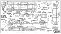 Educator RCM-1184 model airplane plan