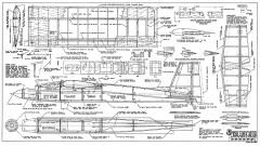 Educator RCM-1184 model airplane plan