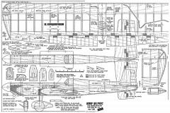 El Conquistador model airplane plan