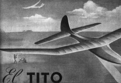 El Tito model airplane plan