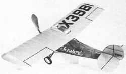 Elias Airsport model airplane plan