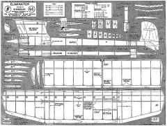 Eliminator FF 1953 model airplane plan