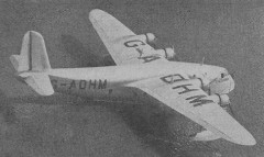 Empire Flying Boat model airplane plan