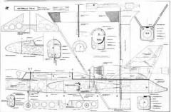Estrella Roja model airplane plan