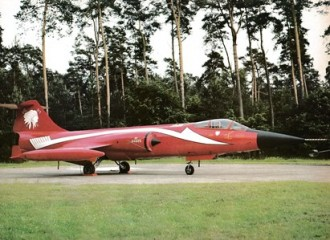F-104G Starfighter model airplane plan