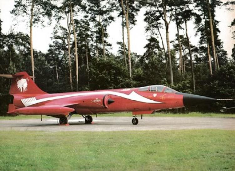 F-104G Starfighter model airplane plan