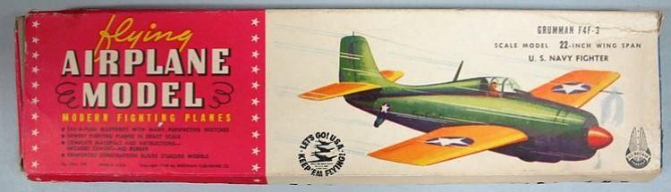 Grumman F-4 F3 model airplane plan