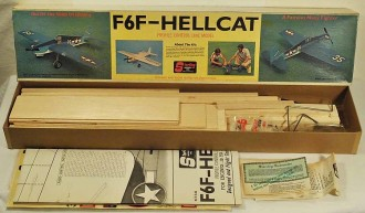 F-6F Hellcat model airplane plan