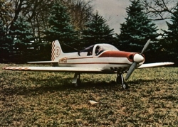 Super Falco F.8L model airplane plan