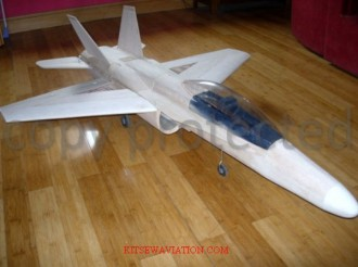 F-18 Hornet model airplane plan