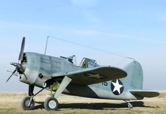 Brewster F2A Buffalo model airplane plan